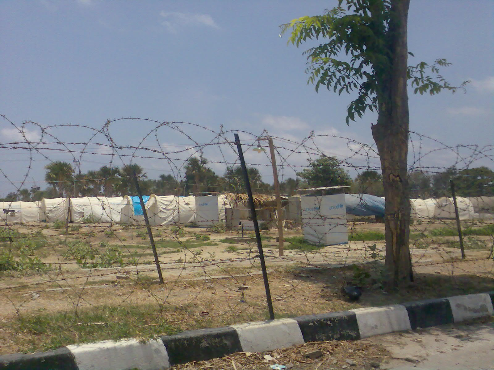UN Refugee camp Timor Leste