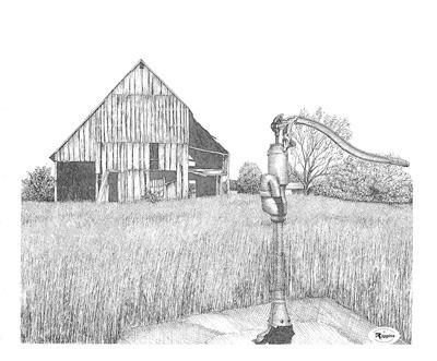 Pump and Barn