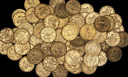 Pile of Gold Coins||||