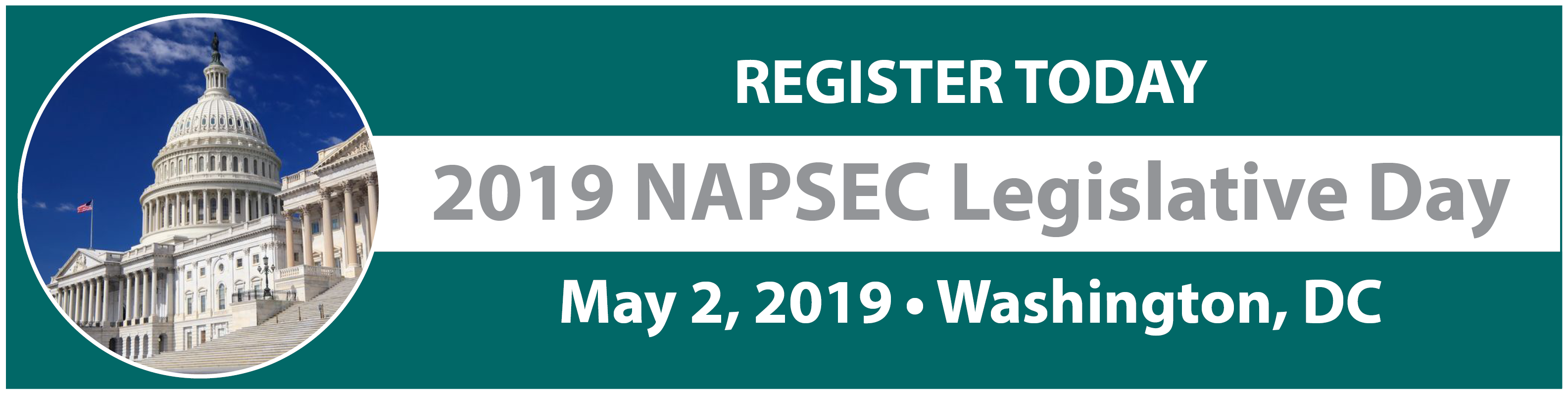 Register for the 2019 NAPSEC Legislative Day Today