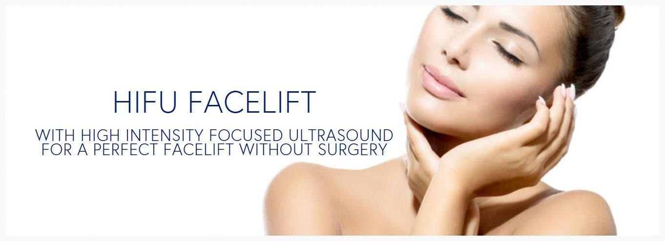 HIFU Non-Surgical Facelift in Palm Harbor, Safety Harbor, Clearwater, Tampa,  Dunedin, Tarpon Springs, Trinity, and New Port Richey Florida.