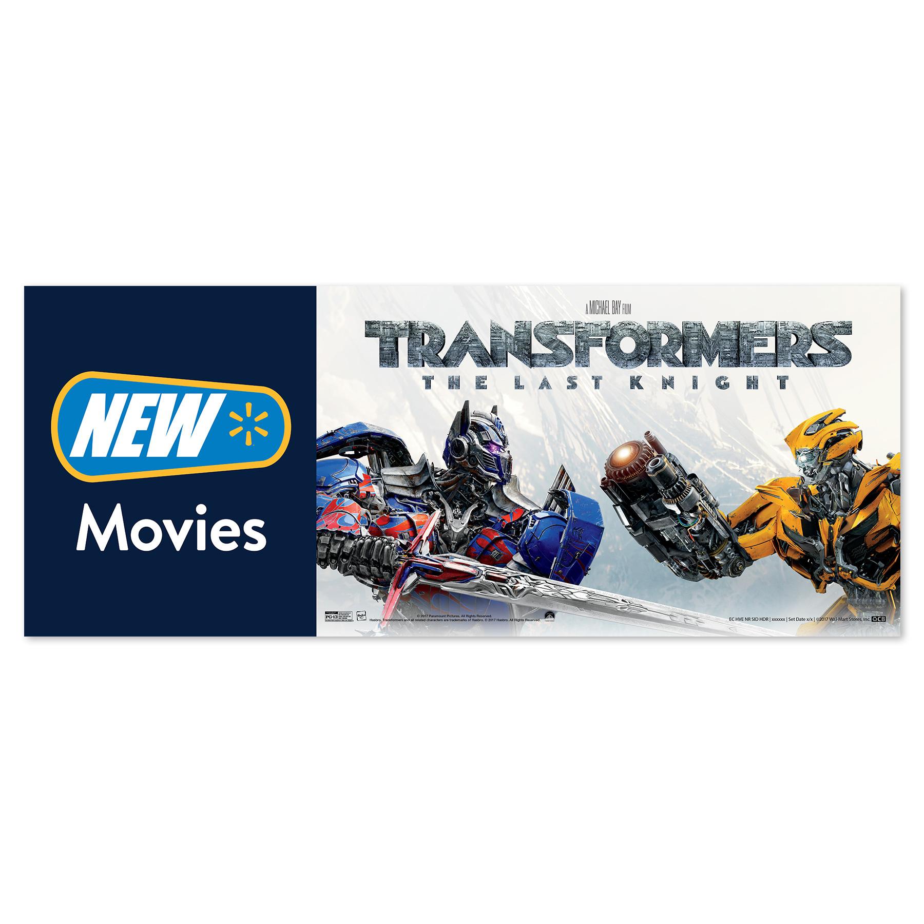 Transformers Walmart New Release Sign