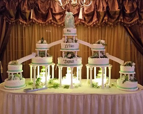 Extravagant Multi-Layered Cake