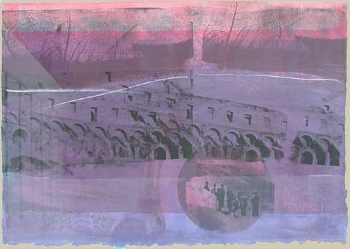 Thomas Wojak, View of Ruins II