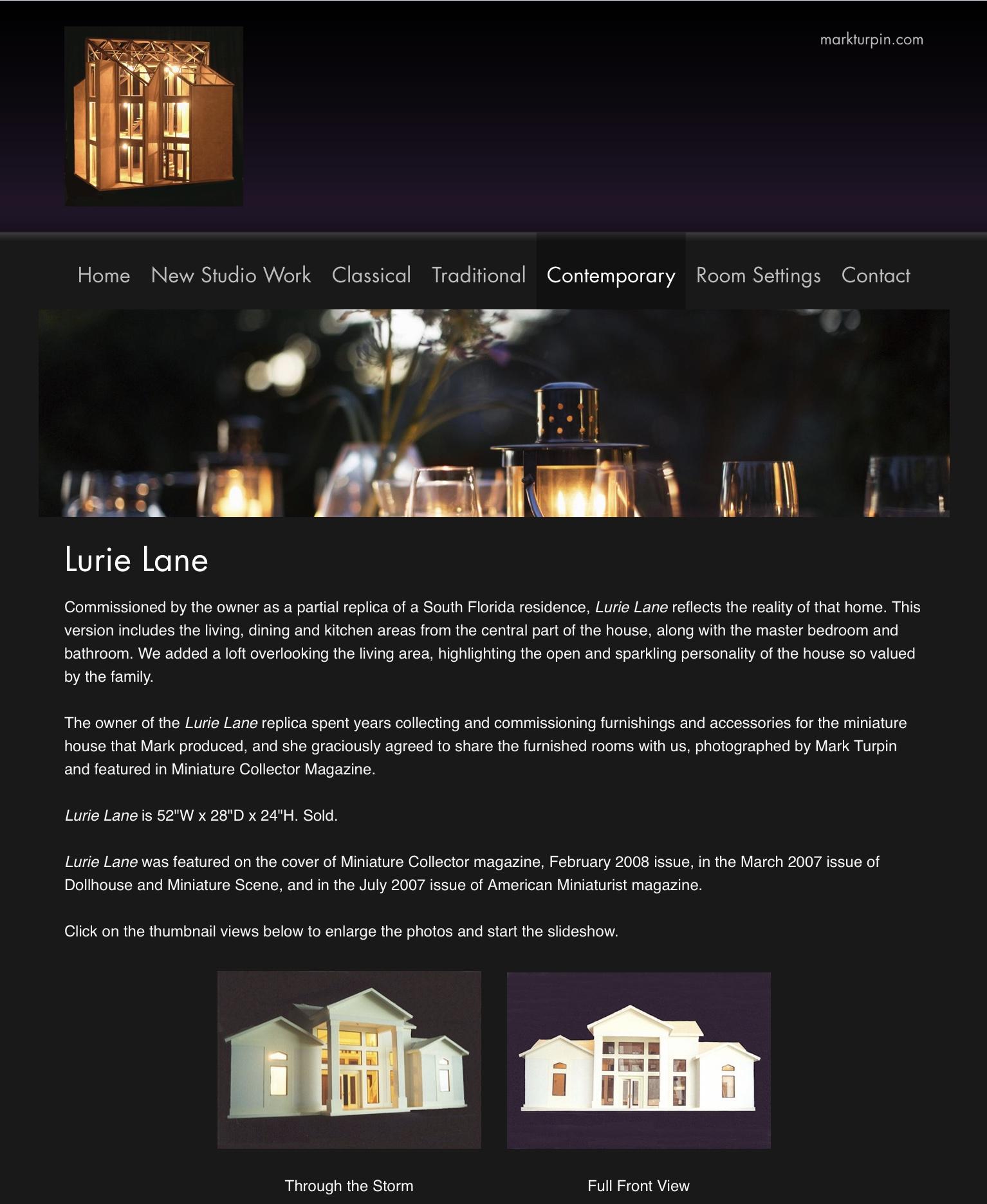 Lurie Lane — 2001