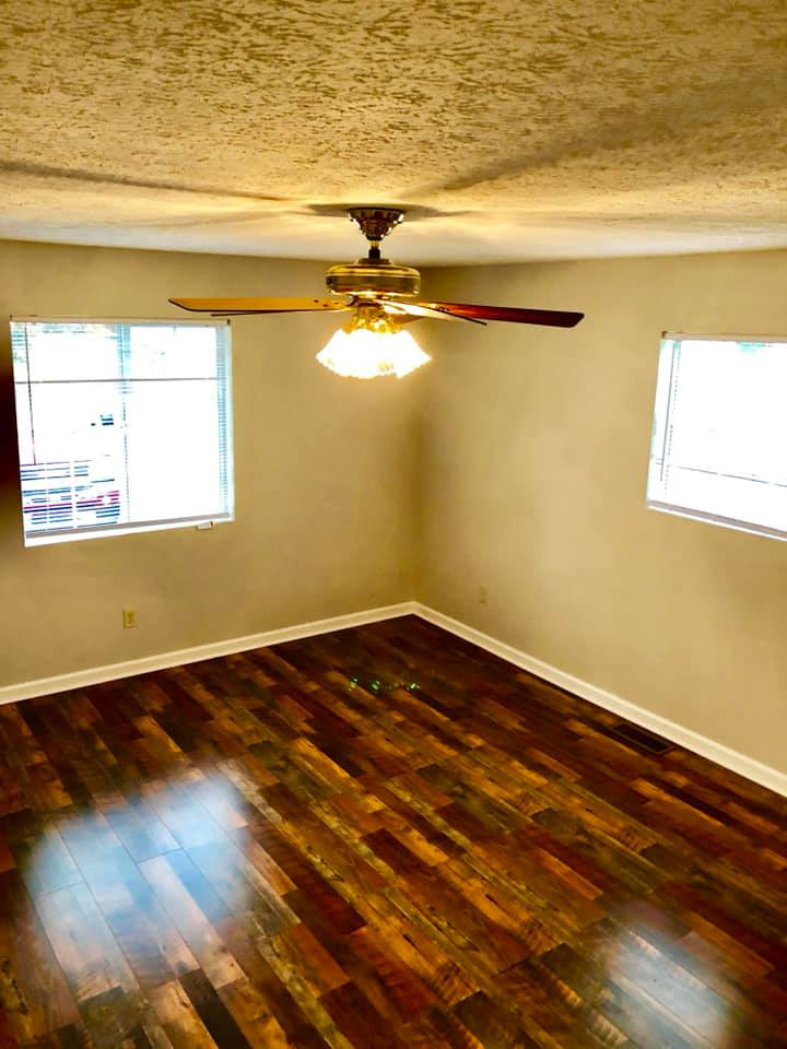 Room Remodel with Flooring Installation and Trim 2