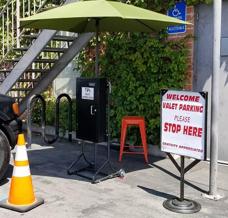 Valet Parking Kiosk