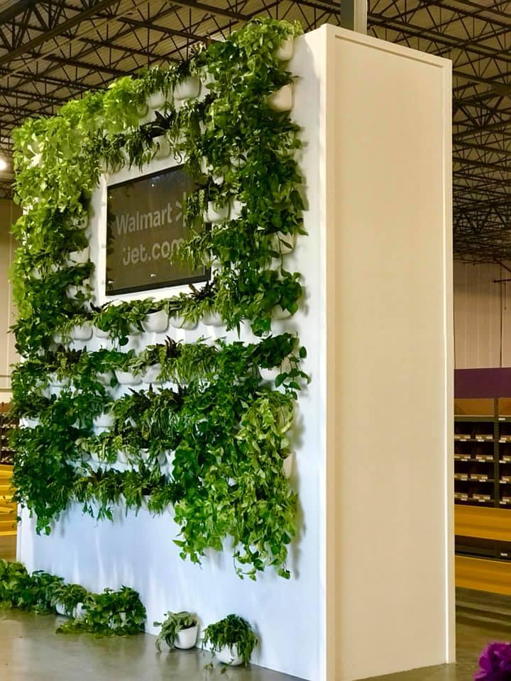 Walmart Jet.com Living Wall Build 4