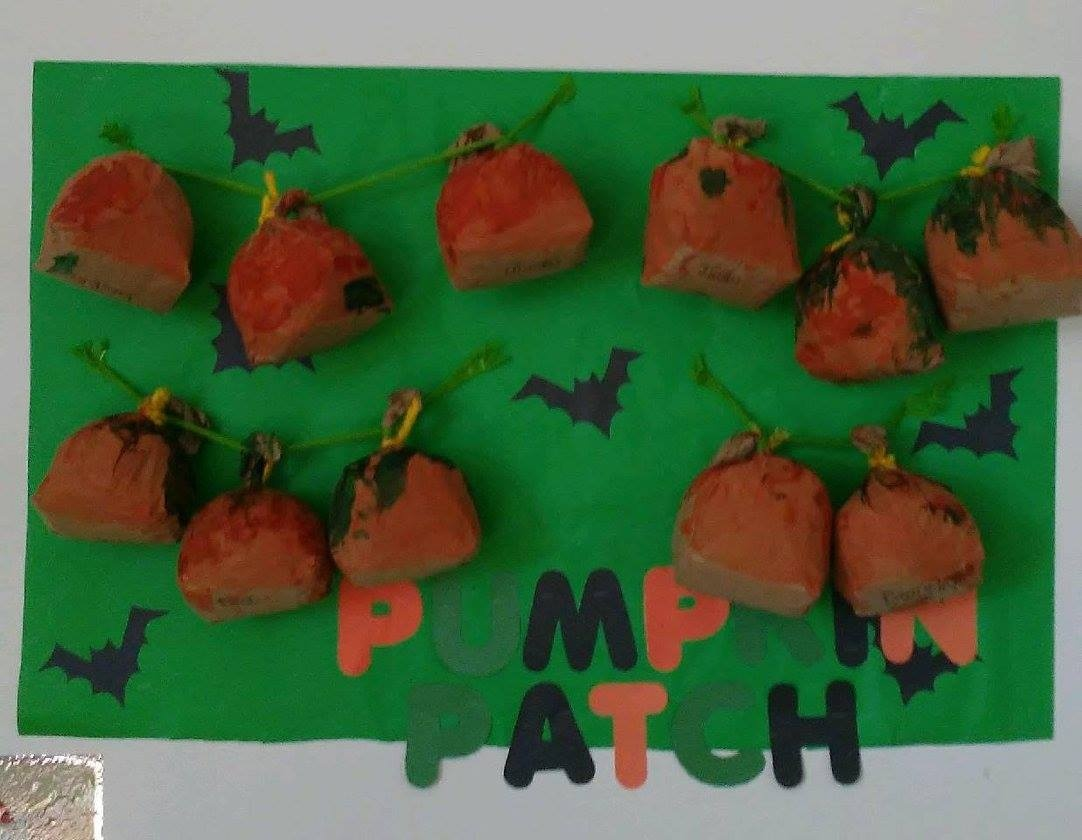 Pumpkin Patch Wall
