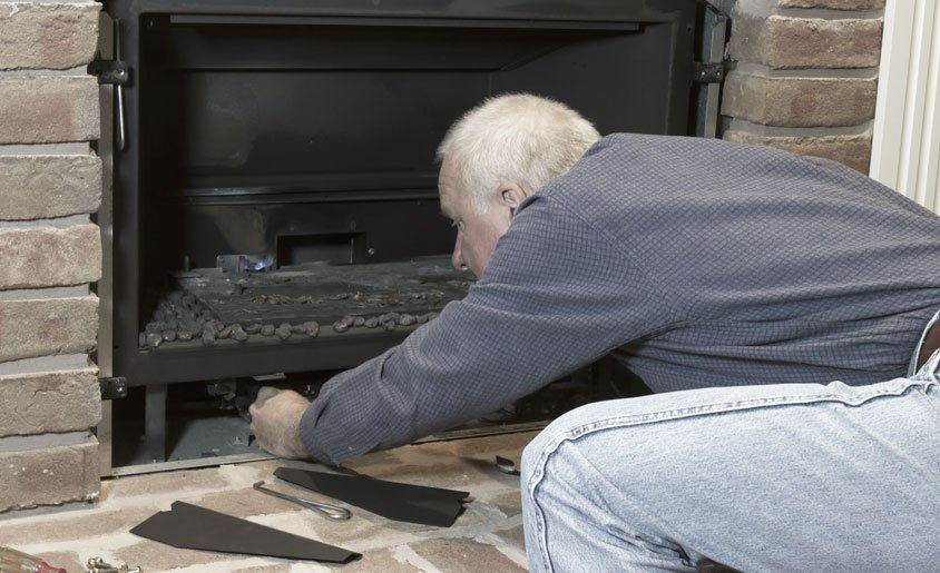 Seasonal Maintenance on Gas Fireplace