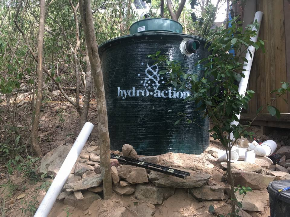 Hydro Action Water Disposal System