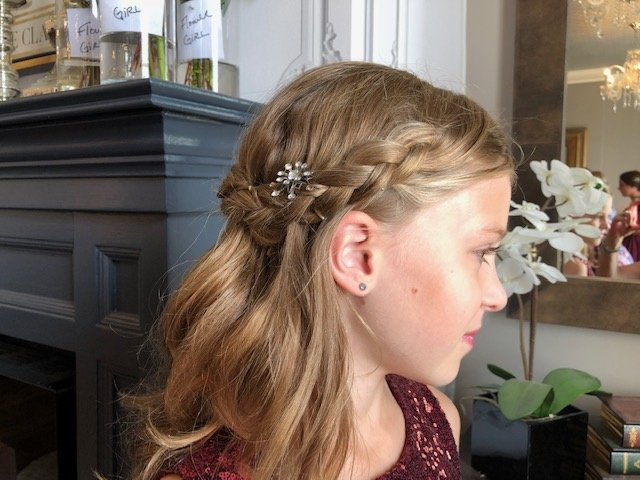 Flower Girl Braid