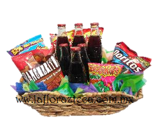 LFA-CA002 Canasta de papas y Refrescos Precio $760