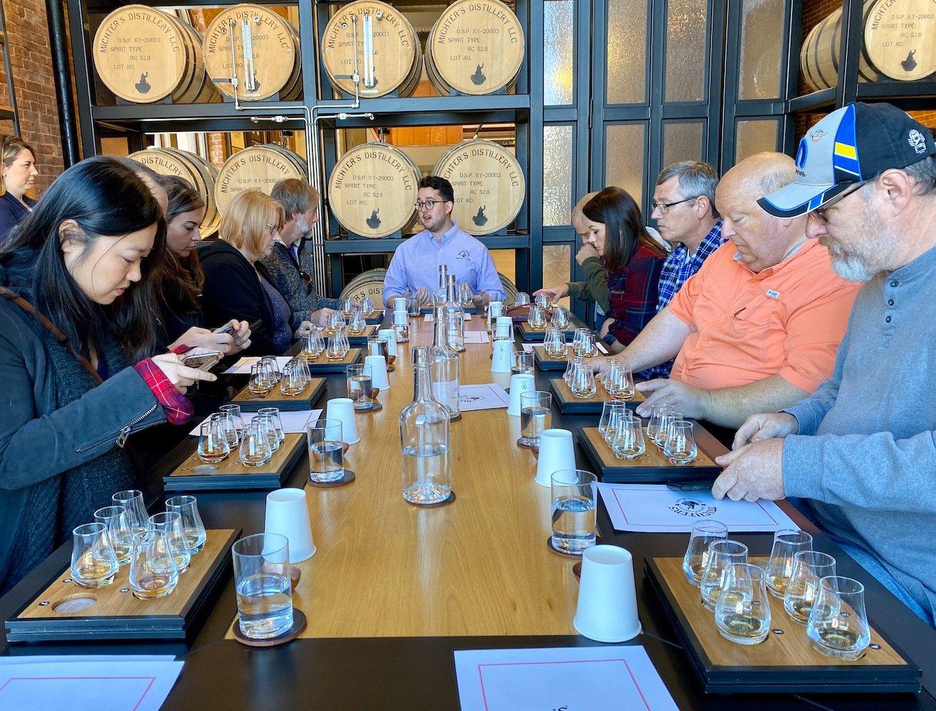 Whiskey Tasting - Michter's Distillery