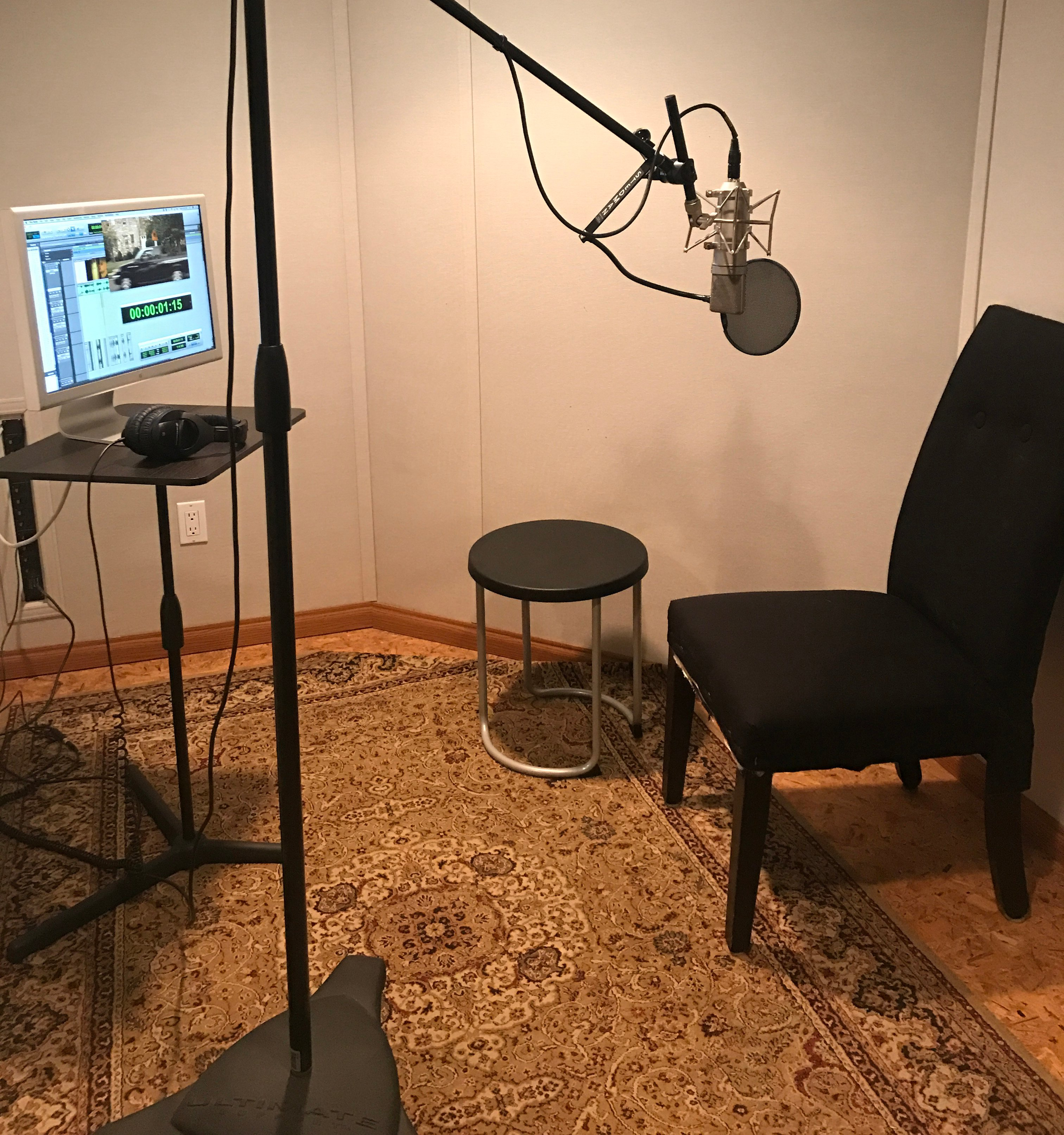 Voice Over/ISO Room