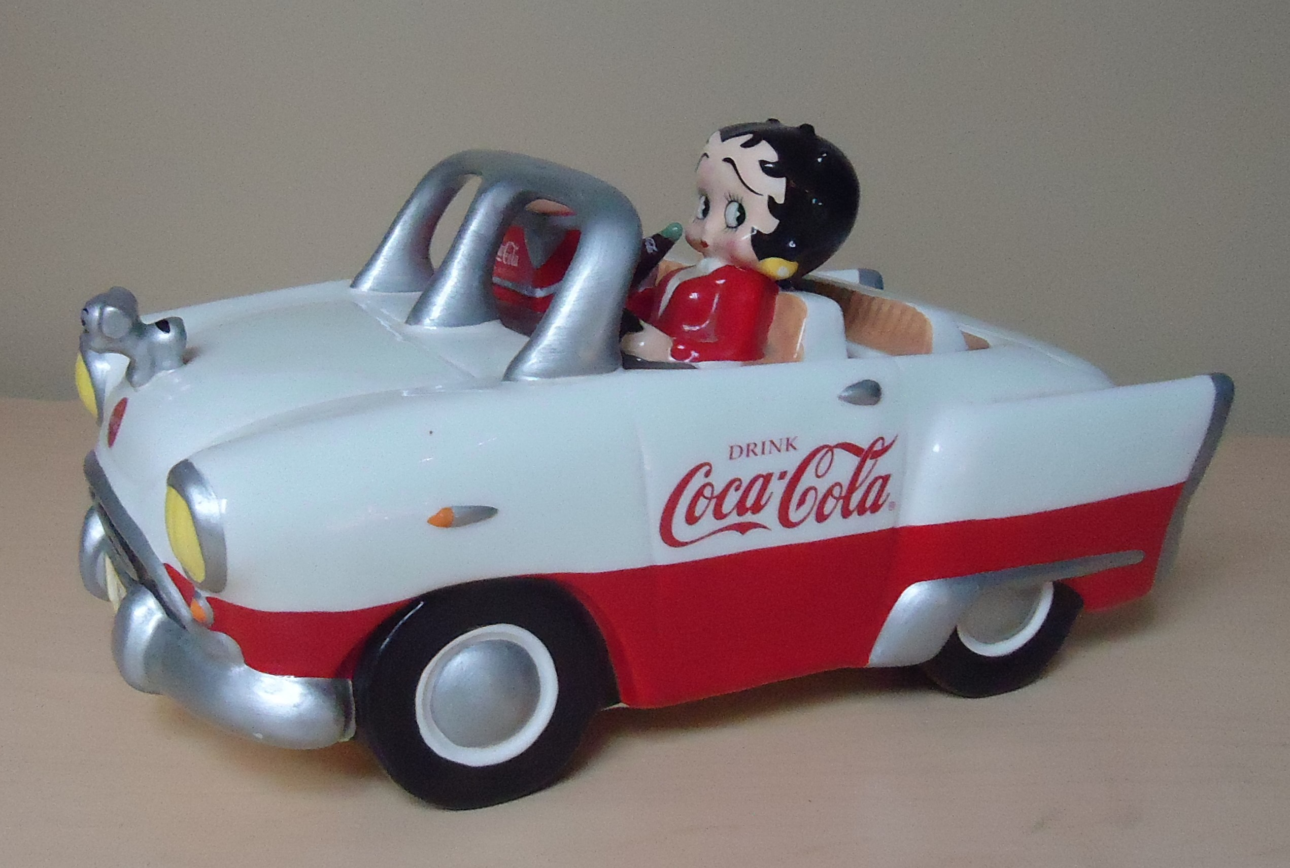 "(7) ""RARE"" Coke Car W/ Betty Boop Cookie Jar $250.00"