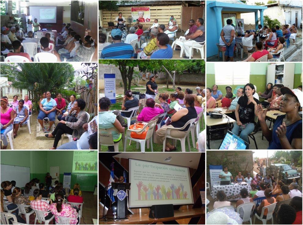 Jornadas de sensibilización sobre  igualdad de genero y  autonomía económica