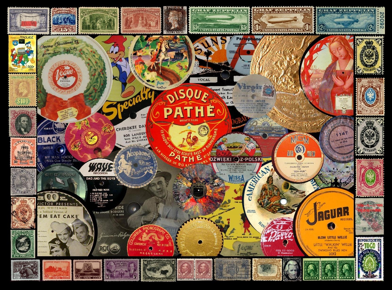 LP picture discs