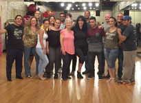 Salsa Class group picture
