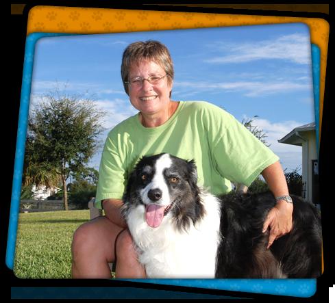 Cissy Sumner and Her Dog
