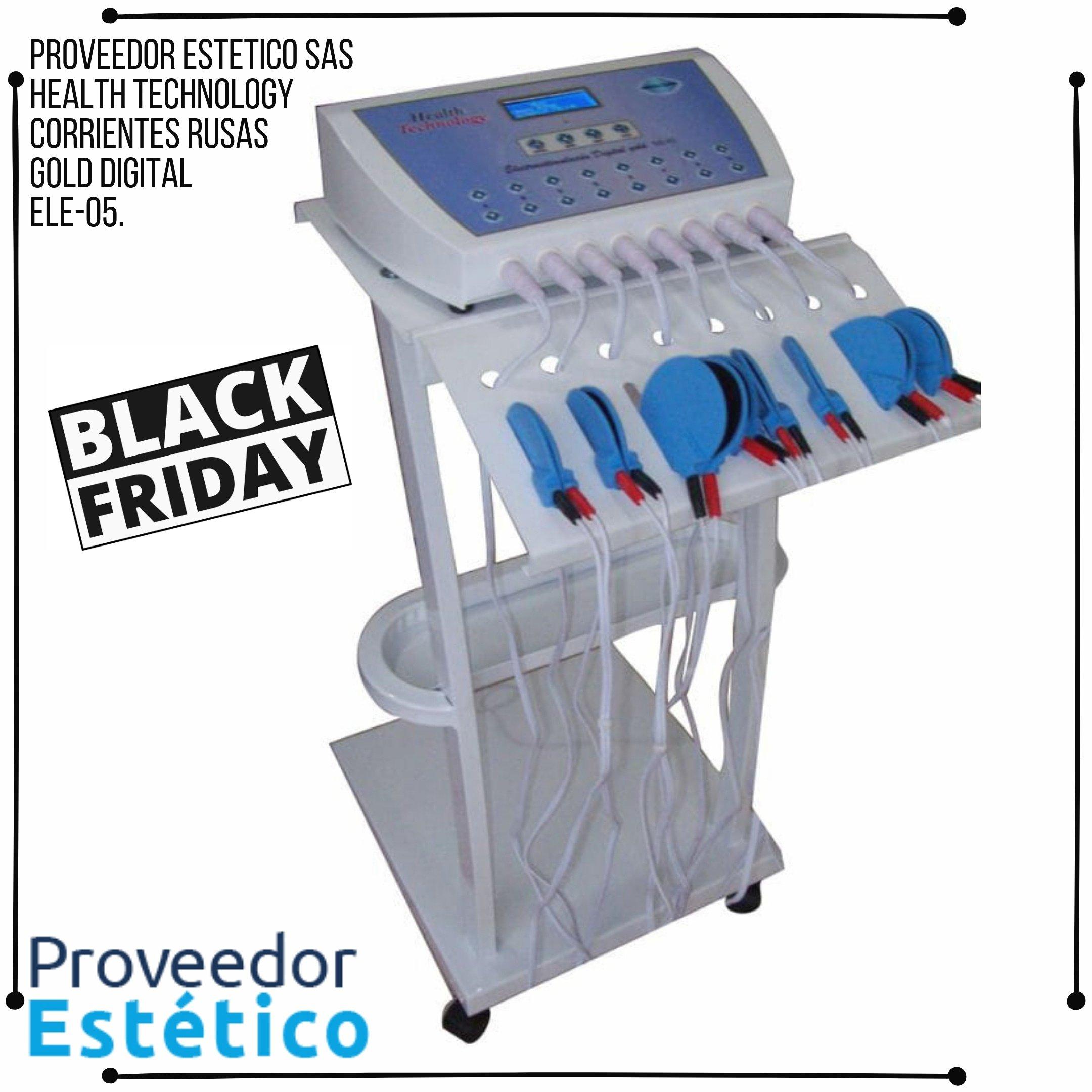 ELE-05 Corrientes Rusas Gold Health Tecnology.