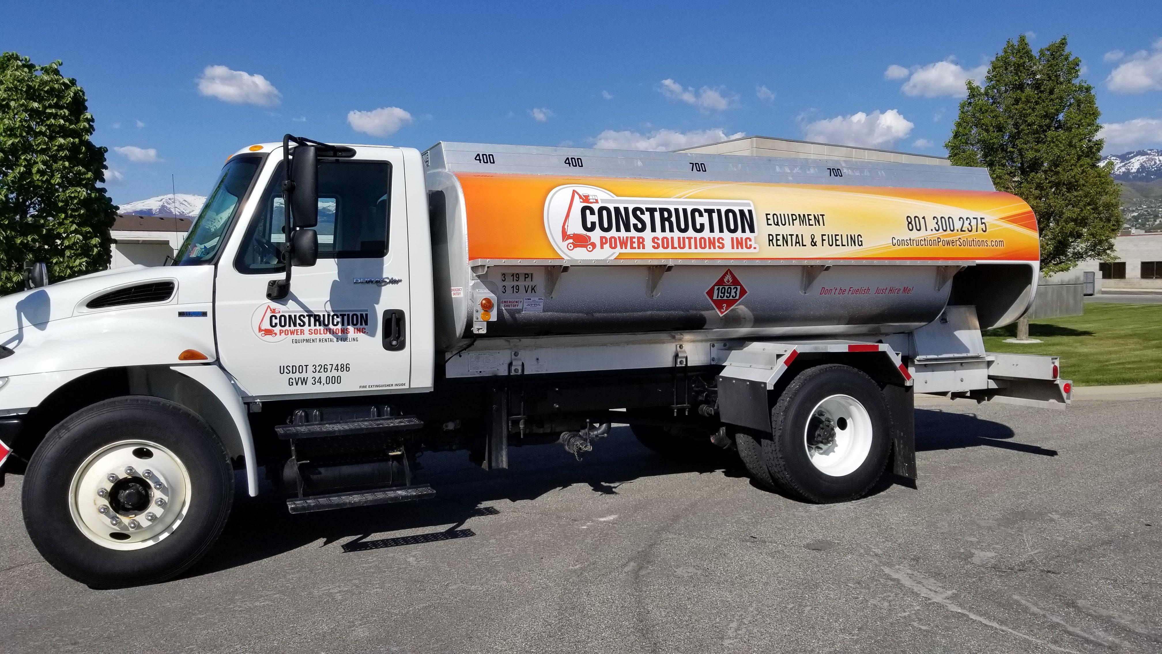 Huge Fuel Truck