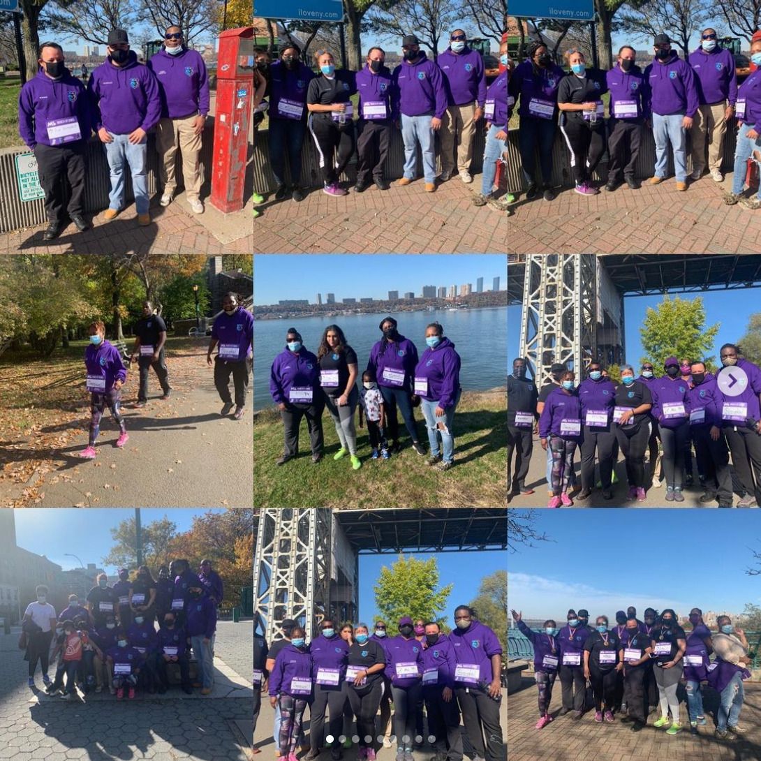March of Dimes walk on a beautiful summer day