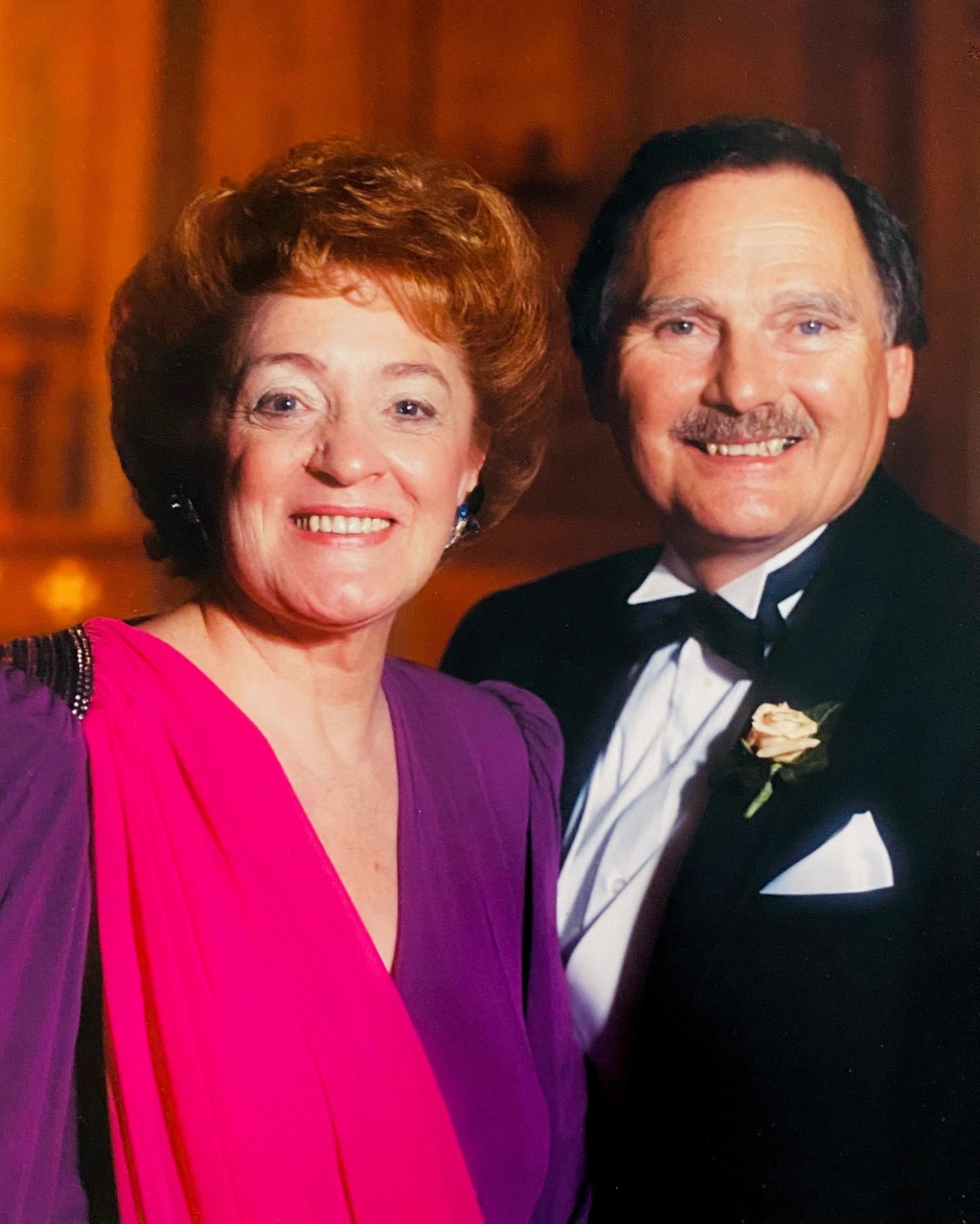 Ken and Flo Skinner