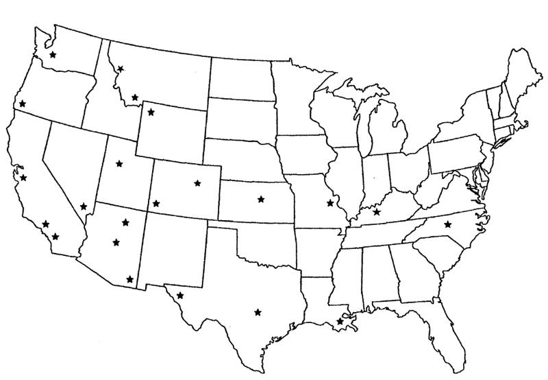 Destination Map, Click to Enlarge    