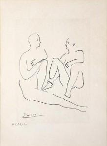 From the series Grâce et Mouvement (1943).