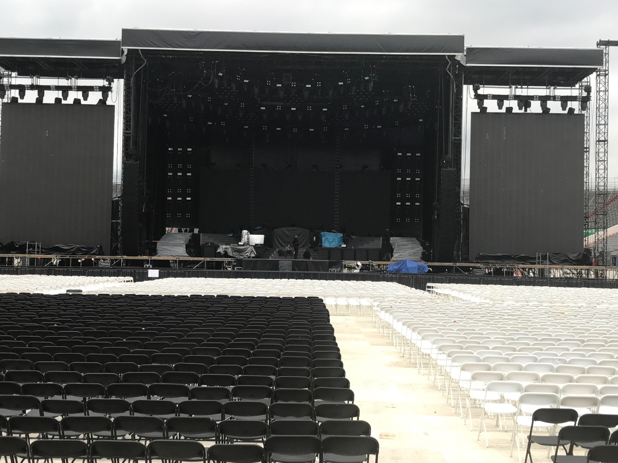 Event Stage And Seats