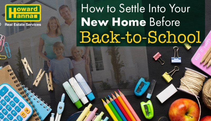 How to Settle into your new home before back to school