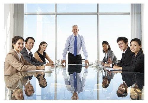 People Having Board Meeting