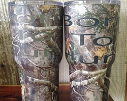 Born to Hunt Tumbler