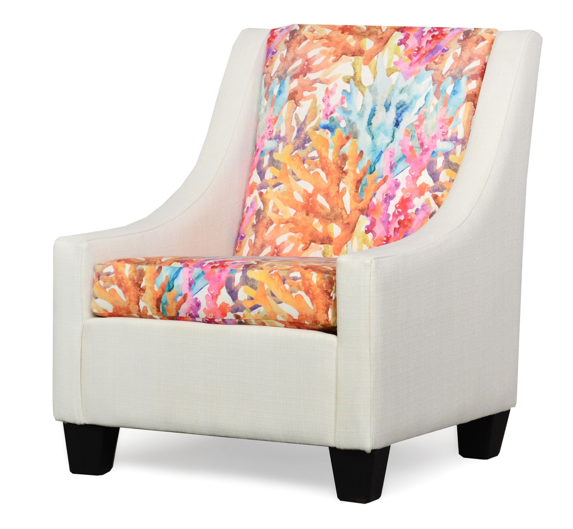 390 Luna Ivory Accent Chair