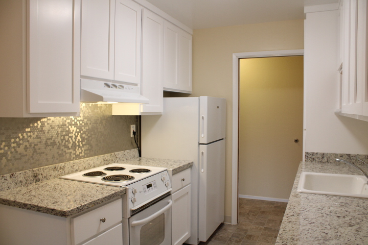 Updated kitchen with new, granite countertops