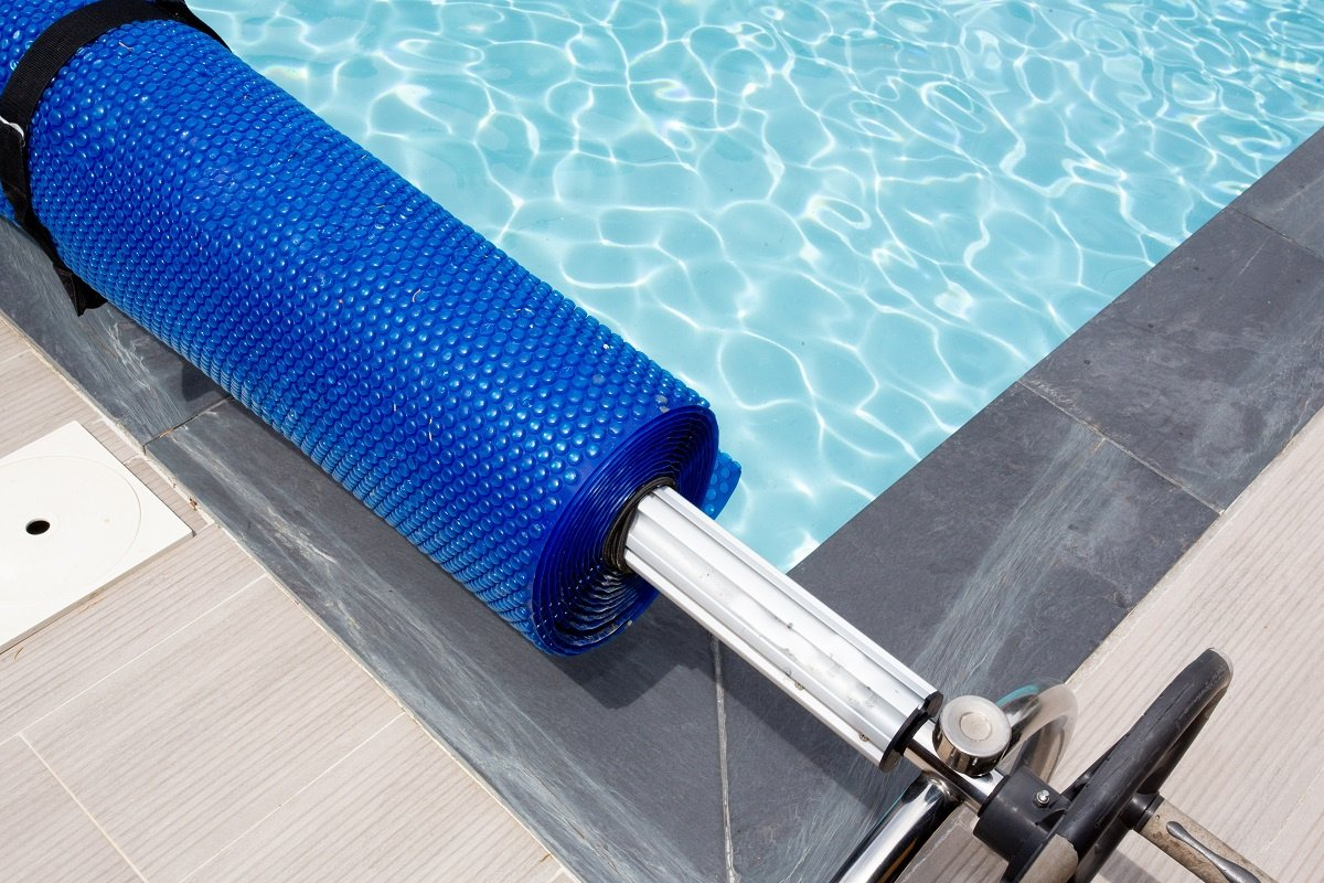 Blue Bubble Solar Panel for Swimming Pool
