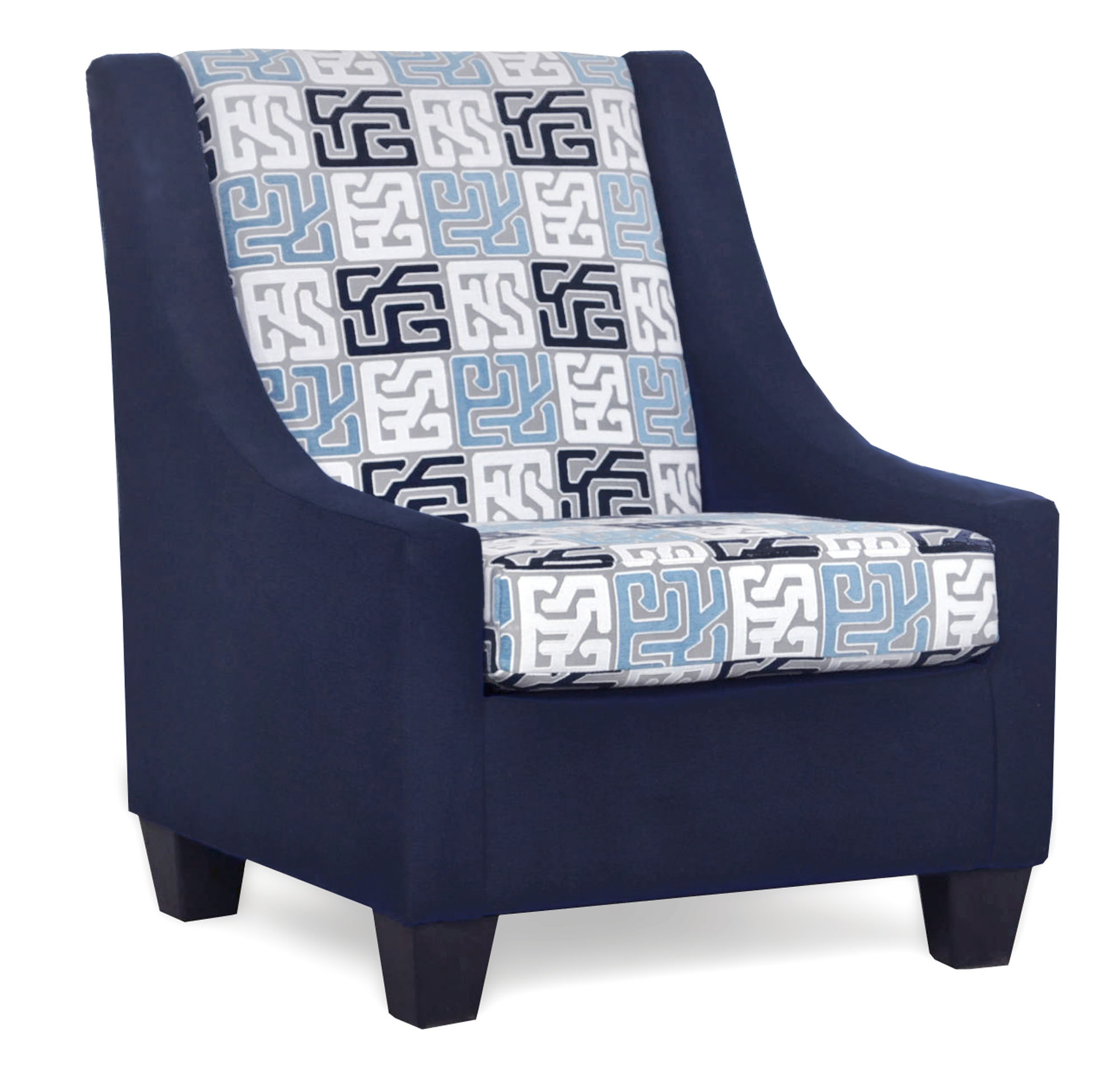 390 Luna Midnight Accent Chair
