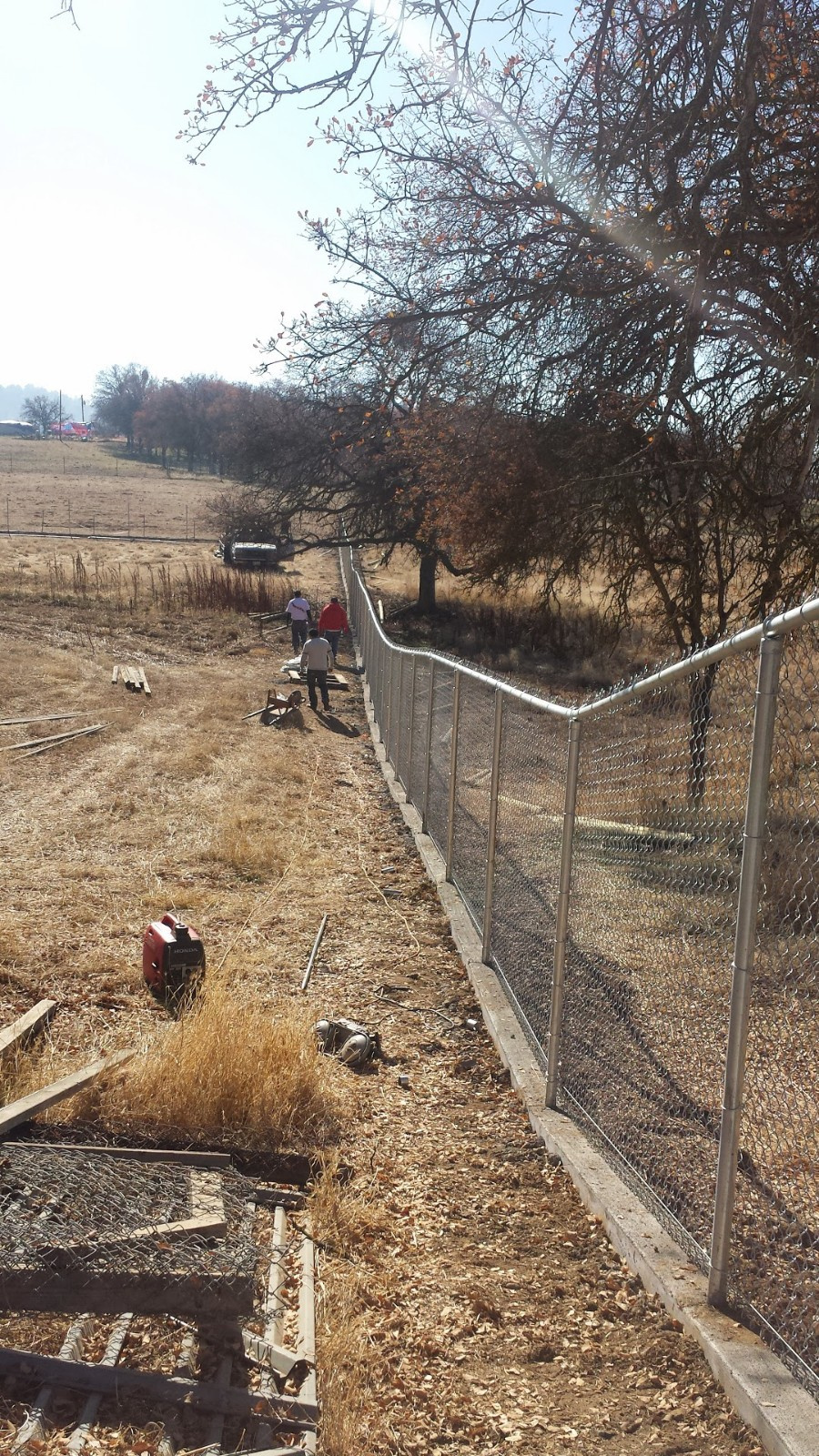 Chain-Link Fencing Installation