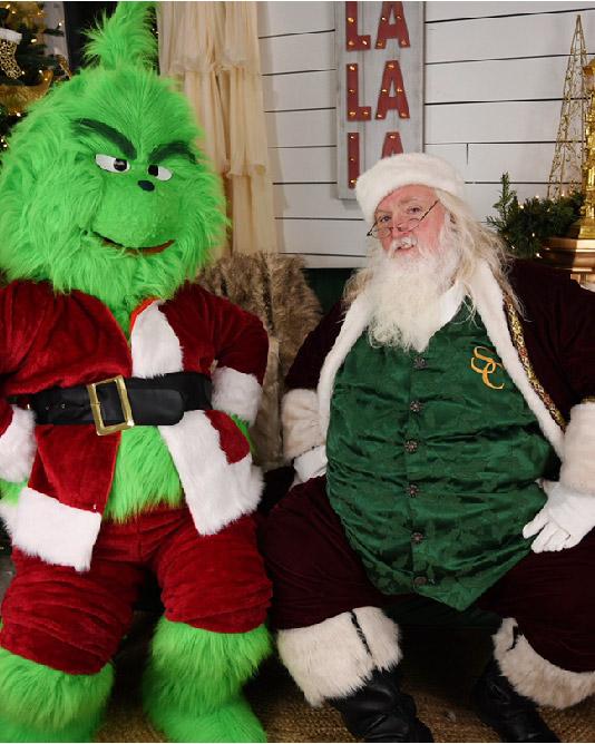 Santa and Christmas Villain