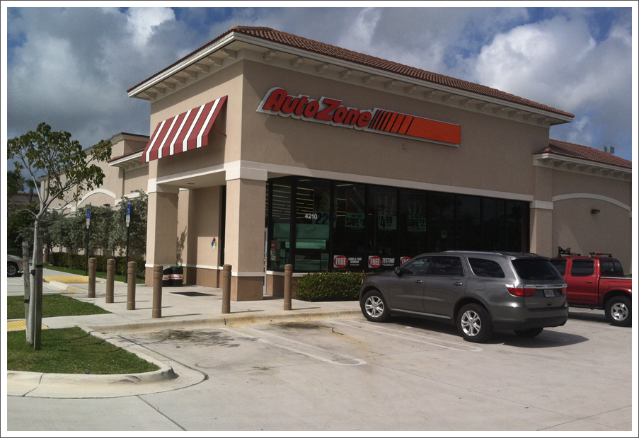 Auto zone coral springs||||