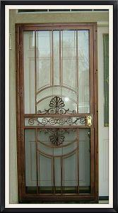 NEW YORKER STORM SECURITY DOOR