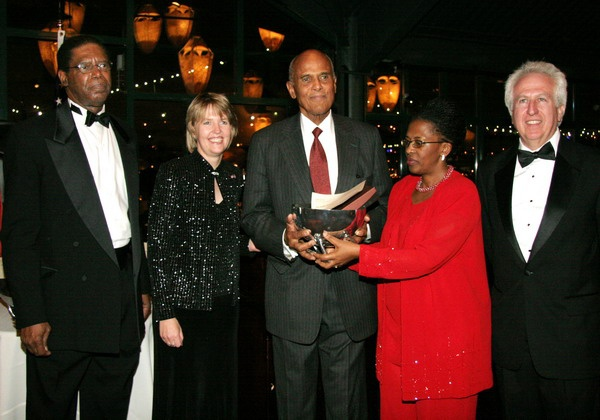 Harry Belafonte, South Africa Consul General, Fikile Mangbane, Leyland and SACCA members
