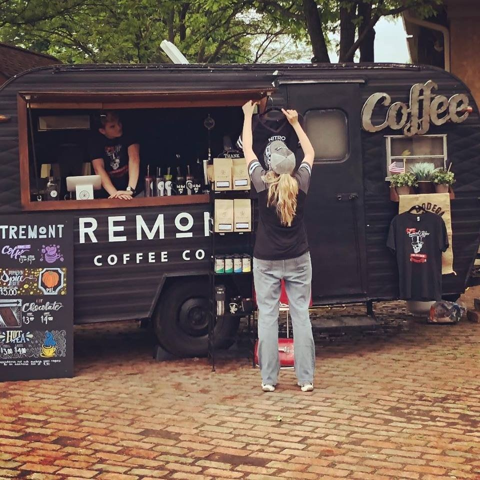 Tremont Coffee's Concession Trailer
