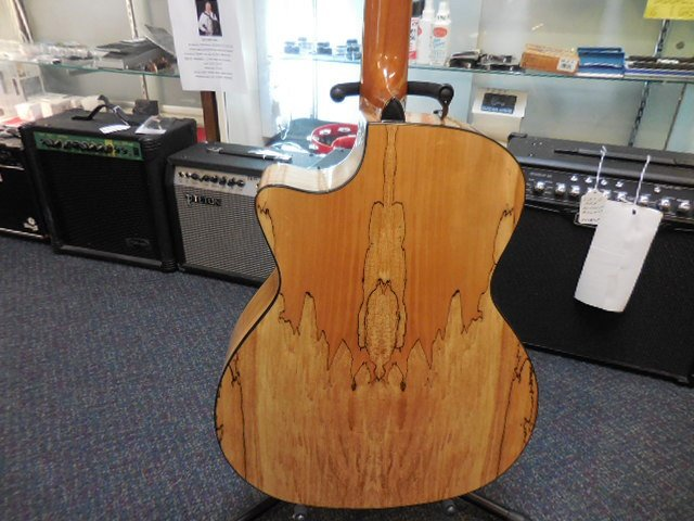 Teton Maple Guitar - back