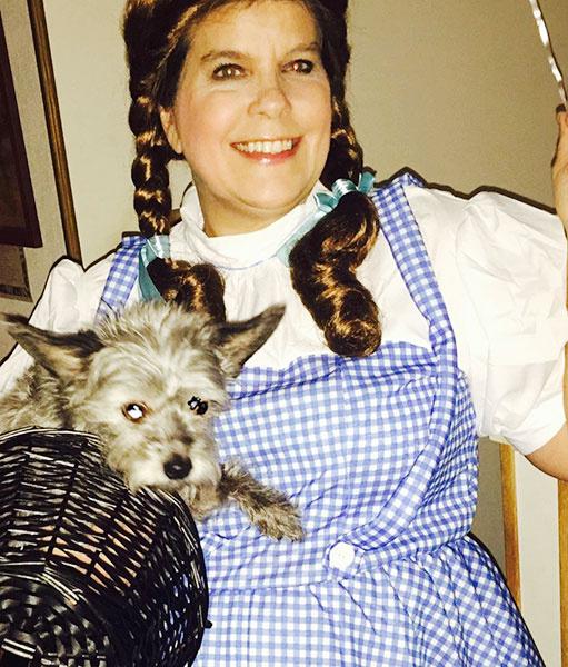 Cindee as Dorothy