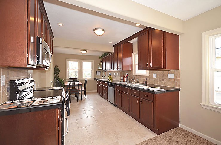 Remodeled Modern Kitchen