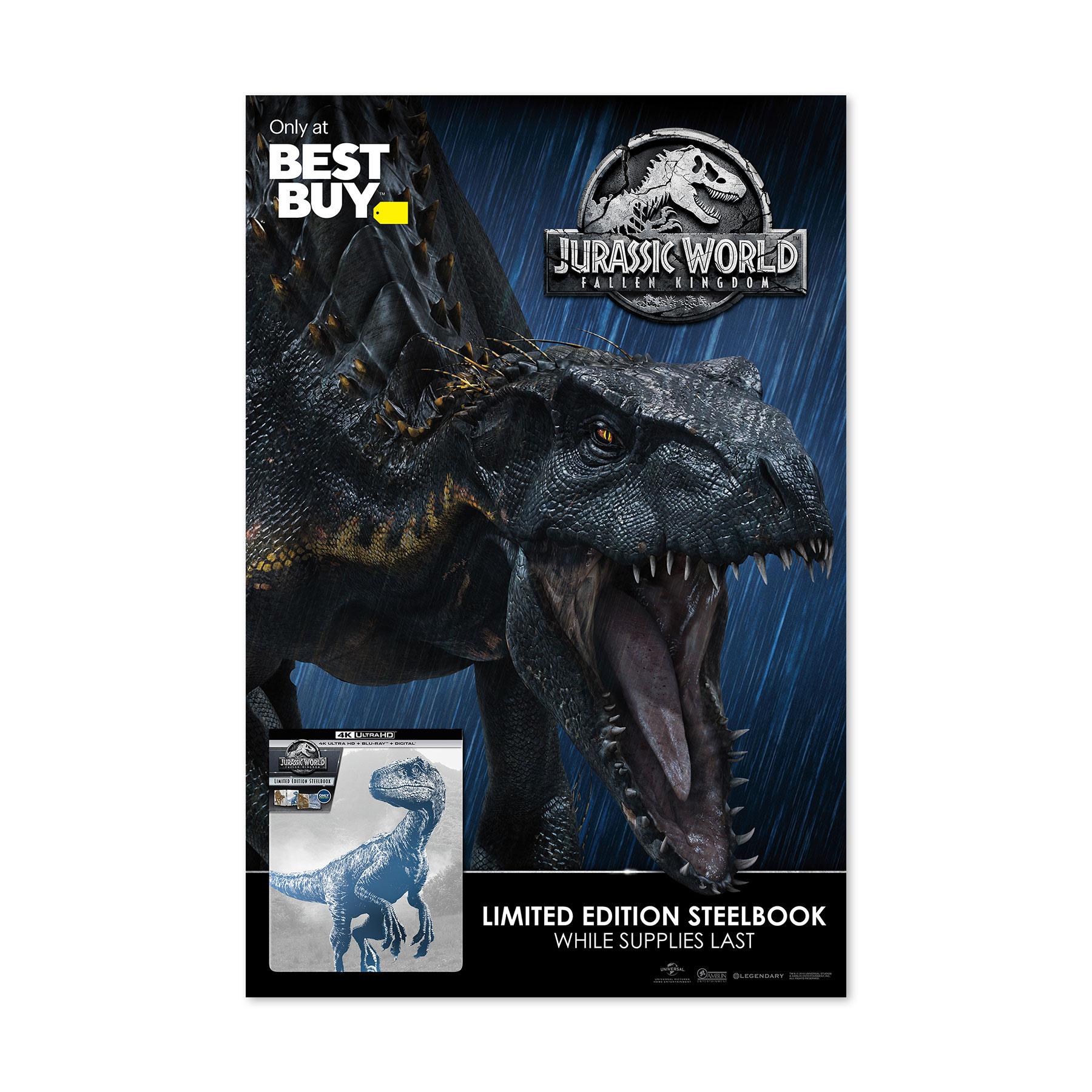 Jurassic World: The Fallen Kingdom Best Buy Sidewalk Sign