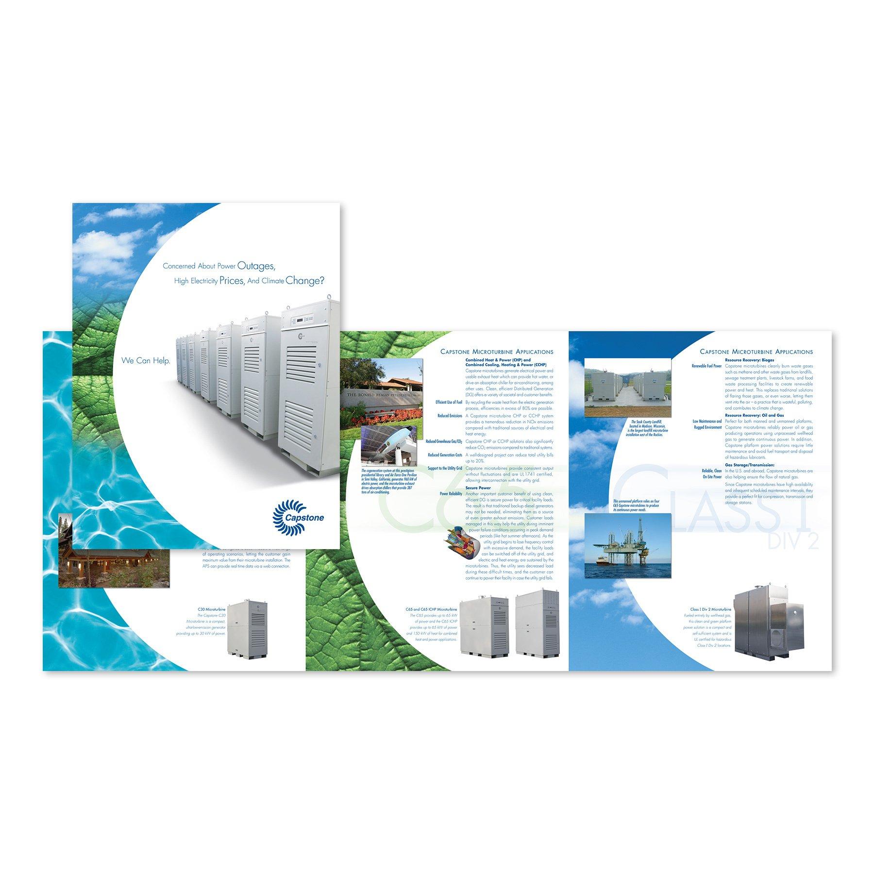 Capstone Turbine Corporate Brochure