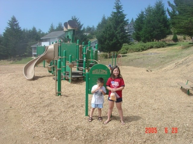 We love the playground